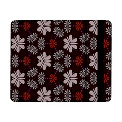 Floral Pattern On A Brown Backgroundsamsung Galaxy Tab Pro 8 4  Flip Case
