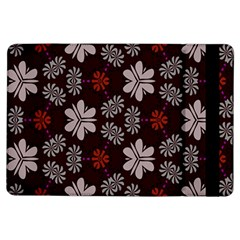 Floral pattern on a brown background	Apple iPad Air Flip Case