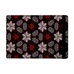 Floral pattern on a brown background	Apple iPad Mini 2 Flip Case