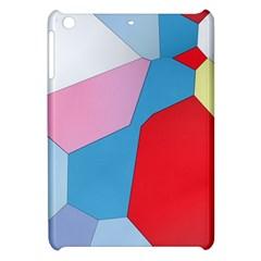 Colorful Pastel Shapes Apple Ipad Mini Hardshell Case