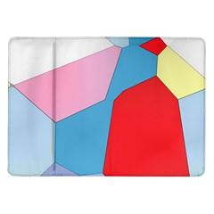 Colorful pastel shapes Samsung Galaxy Tab 10.1  P7500 Flip Case
