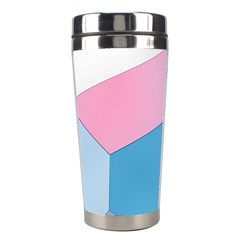 Colorful Pastel Shapes Stainless Steel Travel Tumbler