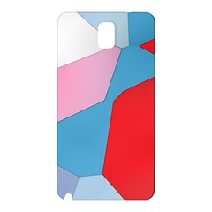 Colorful pastel shapes Samsung Galaxy Note 3 N9005 Hardshell Back Case