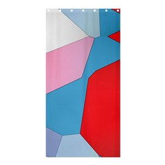Colorful Pastel Shapes	shower Curtain 36  X 72
