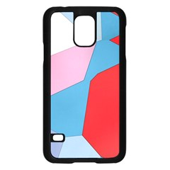 Colorful pastel shapes	Samsung Galaxy S5 Case