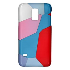 Colorful pastel shapesSamsung Galaxy S5 Mini Hardshell Case