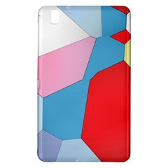 Colorful Pastel Shapes	samsung Galaxy Tab Pro 8 4 Hardshell Case