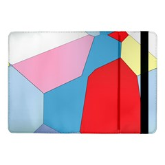 Colorful Pastel Shapes	samsung Galaxy Tab Pro 10 1  Flip Case