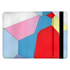 Colorful pastel shapes	Samsung Galaxy Tab Pro 12.2  Flip Case