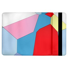 Colorful pastel shapes	Apple iPad Air Flip Case