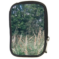 Grass And Trees Nature Pattern Compact Camera Leather Case