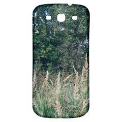 Grass And Trees Nature Pattern Samsung Galaxy S3 S Iii Classic Hardshell Back Case