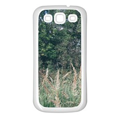 Grass And Trees Nature Pattern Samsung Galaxy S3 Back Case (white)