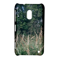 Grass And Trees Nature Pattern Nokia Lumia 620 Hardshell Case