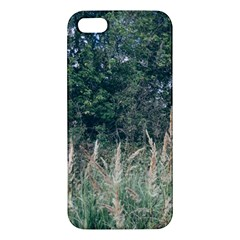 Grass And Trees Nature Pattern Iphone 5s Premium Hardshell Case