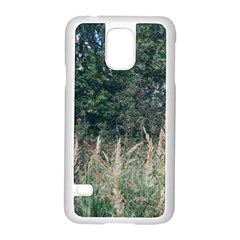 Grass And Trees Nature Pattern Samsung Galaxy S5 Case (White)