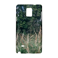 Grass And Trees Nature Pattern Samsung Galaxy Note 4 Hardshell Case
