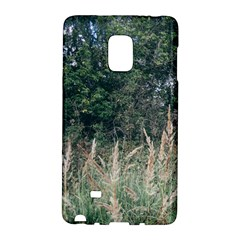 Grass And Trees Nature Pattern Samsung Galaxy Note Edge Hardshell Case