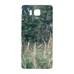 Grass And Trees Nature Pattern Samsung Galaxy Alpha Hardshell Back Case