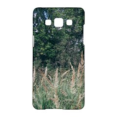Grass And Trees Nature Pattern Samsung Galaxy A5 Hardshell Case