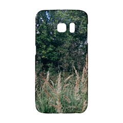 Grass And Trees Nature Pattern Samsung Galaxy S6 Edge Hardshell Case