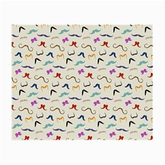 Mustaches Glasses Cloth (small, Two Sided)
