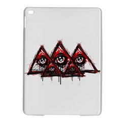 Red White Pyramids Apple Ipad Air 2 Hardshell Case
