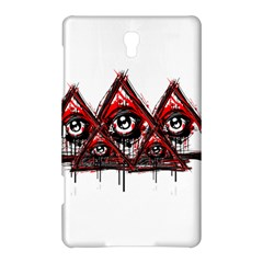 Red White pyramids Samsung Galaxy Tab S (8.4 ) Hardshell Case