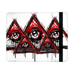 Red White pyramids Samsung Galaxy Tab Pro 8.4  Flip Case