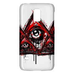Red White pyramids Samsung Galaxy S5 Mini Hardshell Case