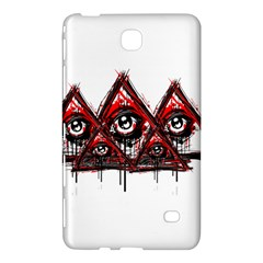Red White Pyramids Samsung Galaxy Tab 4 (8 ) Hardshell Case