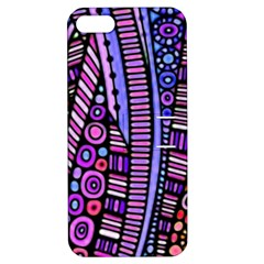 Stained Glass Tribal Pattern Apple Iphone 5 Hardshell Case With Stand