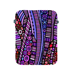 Stained Glass Tribal Pattern Apple Ipad Protective Sleeve