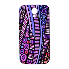 Stained Glass Tribal Pattern Samsung Galaxy S4 I9500/i9505  Hardshell Back Case