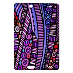 Stained Glass Tribal Pattern Kindle Fire Hd (2013) Hardshell Case