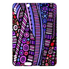 Stained Glass Tribal Pattern Kindle Fire Hdx Hardshell Case