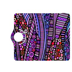 Stained Glass Tribal Pattern Kindle Fire Hdx 8 9  Flip 360 Case