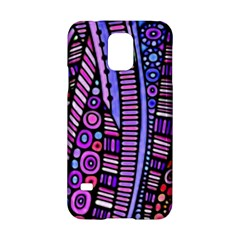 Stained Glass Tribal Pattern Samsung Galaxy S5 Hardshell Case
