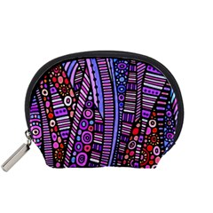 Stained glass tribal pattern Accessory Pouch (Small)