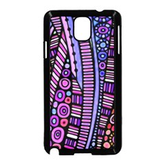 Stained glass tribal pattern Samsung Galaxy Note 3 Neo Hardshell Case (Black)
