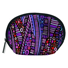 Stained glass tribal pattern Accessory Pouch (Medium)