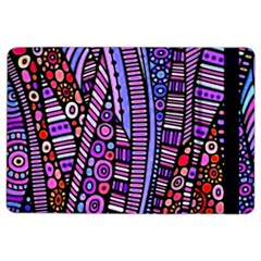 Stained Glass Tribal Pattern Apple Ipad Air 2 Flip Case