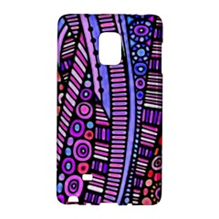 Stained glass tribal pattern Samsung Galaxy Note Edge Hardshell Case