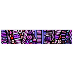 Stained Glass Tribal Pattern Flano Scarf (small)