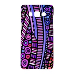 Stained Glass Tribal Pattern Samsung Galaxy A5 Hardshell Case