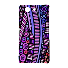Stained glass tribal pattern Sony Xperia Z3 Compact Hardshell Case