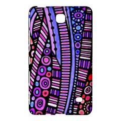 Stained glass tribal pattern Samsung Galaxy Tab 4 (8 ) Hardshell Case