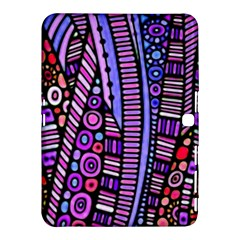 Stained Glass Tribal Pattern Samsung Galaxy Tab 4 (10 1 ) Hardshell Case