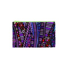 Stained glass tribal pattern Cosmetic Bag (XS)