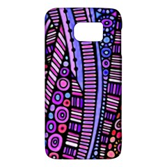 Stained Glass Tribal Pattern Samsung Galaxy S6 Hardshell Case